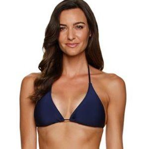 🆕Designer Helen Jon Navy String Bikini Top